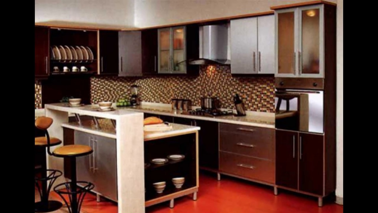 Minimalist Small Kitchen Set Design Ideas Youtube