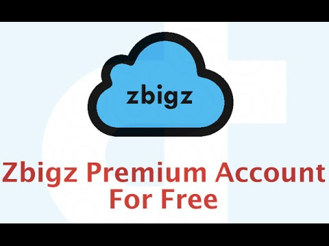 zbigz premium account username and password 2016