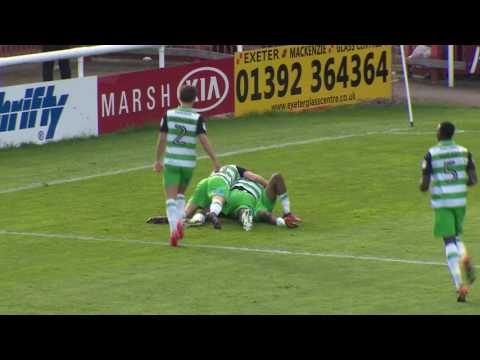 HIGHLIGHTS: EXETER CITY 3-3 YEOVIL TOWN