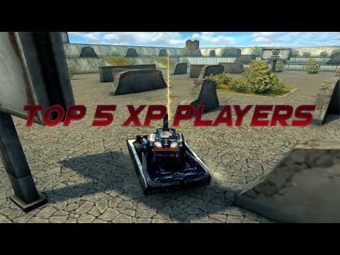 Tanki Online Top 5 XP Players!?