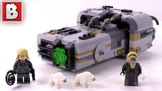 LEGO Moloch's Landspeeder Review! | Star Wars Solo Movie Set 75210!