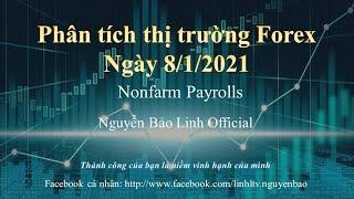 Phân tích thị trường Forex ngày 8/1/2021 (Nonfarm Payrolls) - Nguyễn Bảo Linh Official