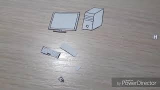 Компьютер для бумажных кукол