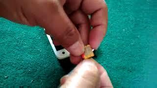 Cara Memasang Simcard Fujitsu F03F Disney Docomo Jepang