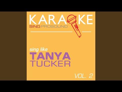 Walking Shoes Tanya Tucker Karaoke