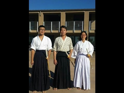 HECSD Servant Auction Service 2015 - the 2nd Kendo lesson