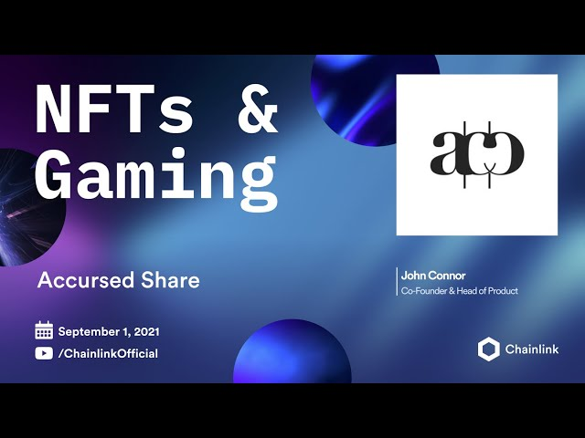 Accursed Share on Chainlink Live | Data Driven Dynamic NFTs for Artists