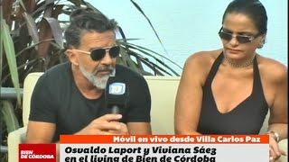 Osvaldo Laport y Viviana Sáez en Bien De Córdoba (BDC)