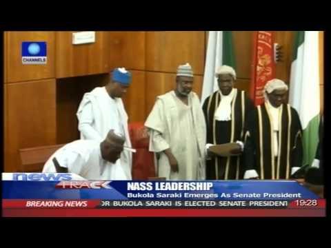 Bukola Saraki Emerges Senate President -- 09/06/15
