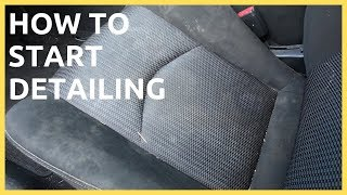 How To Start Detailing Cars