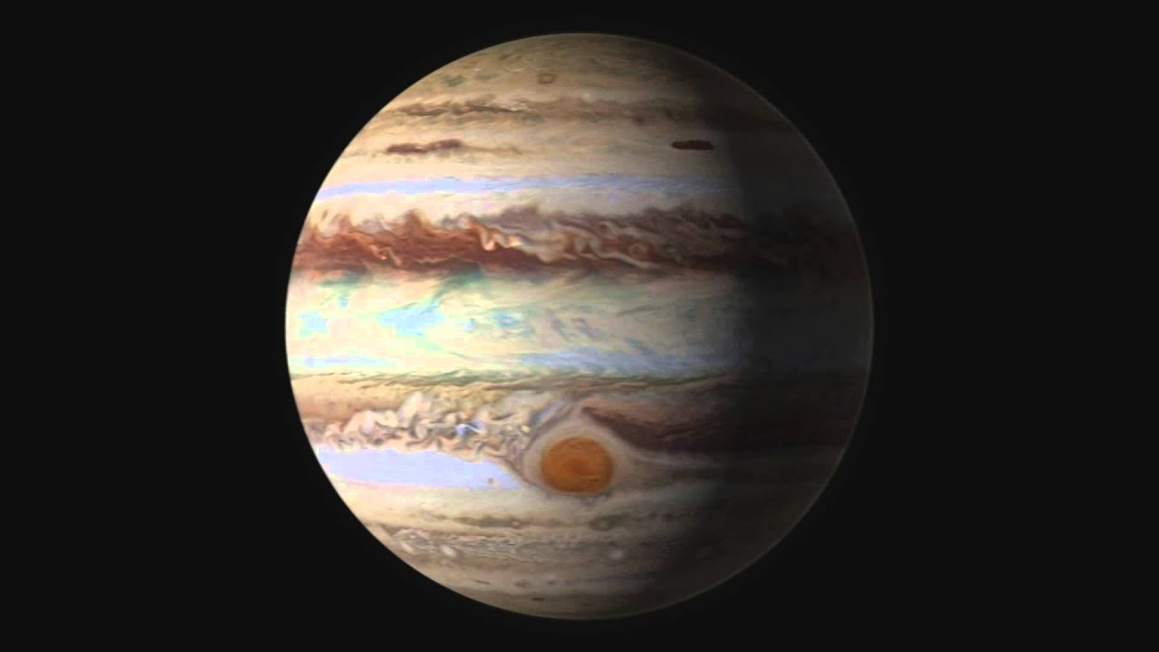 Jupiter's Great Red Spot Is Shrinking - YouTube