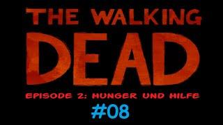 THE WALKING DEAD 1 💥08 Ich nagel dir die Eier an nen Baum! - Let's play [Deutsch blind 1080p]