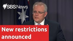 Scott Morrison announced new restrictions to curb the spread of coronavirus