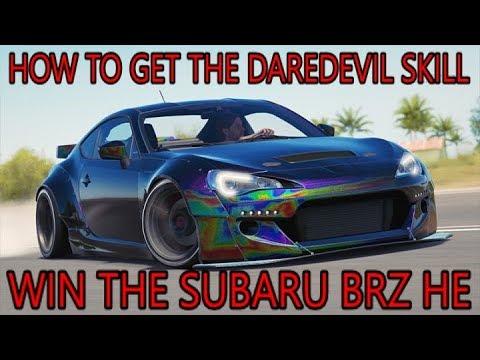 Forza Horizon 3 - FORZATHON Win the Subaru BRZ HE - DAREDEVIL SKILL GUIDE