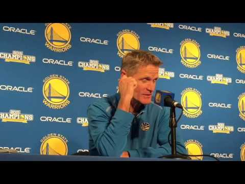 Warriors coach Steve Kerr talks 1995-1996 Bulls team