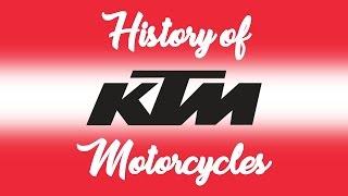 History Ktm Motorcycles