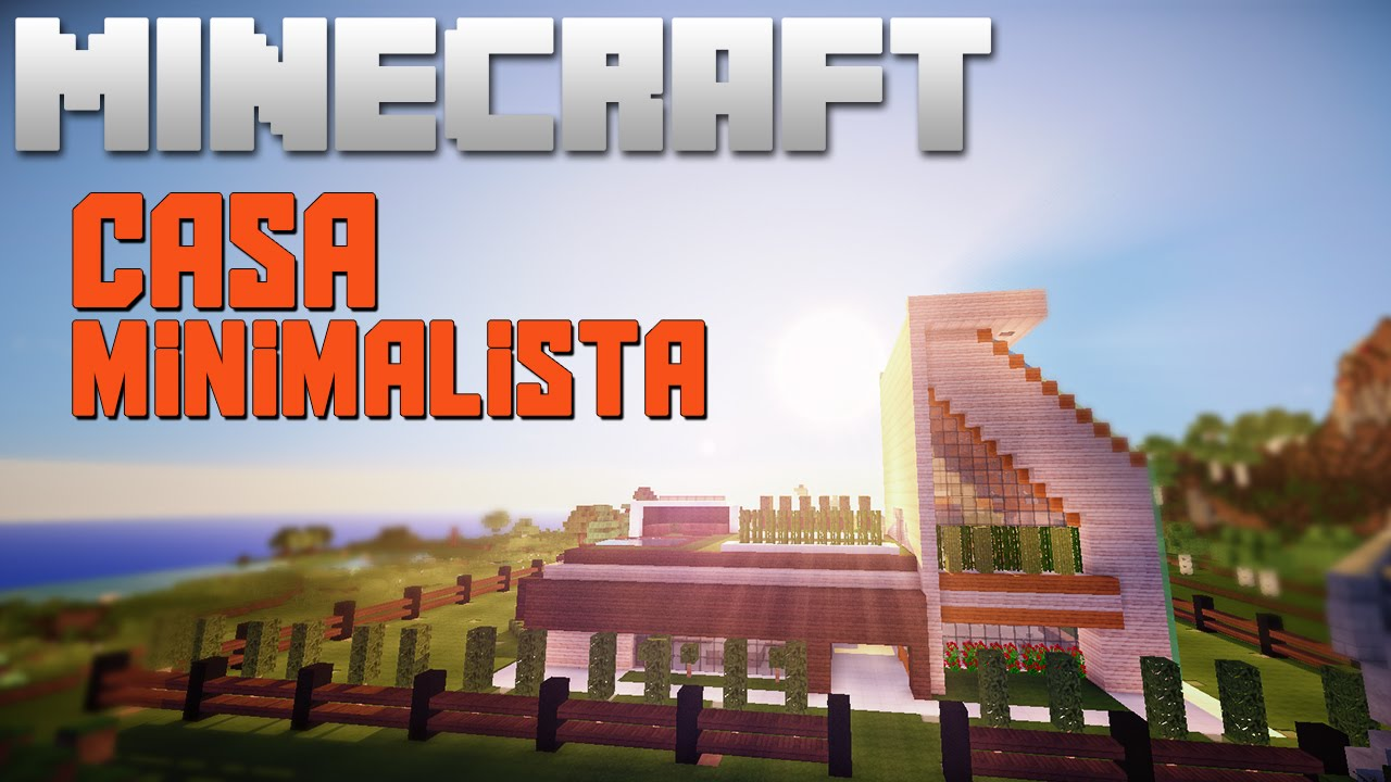 Minecraft casa minimalista del server de twitch youtube for Casa minimalista minecraft