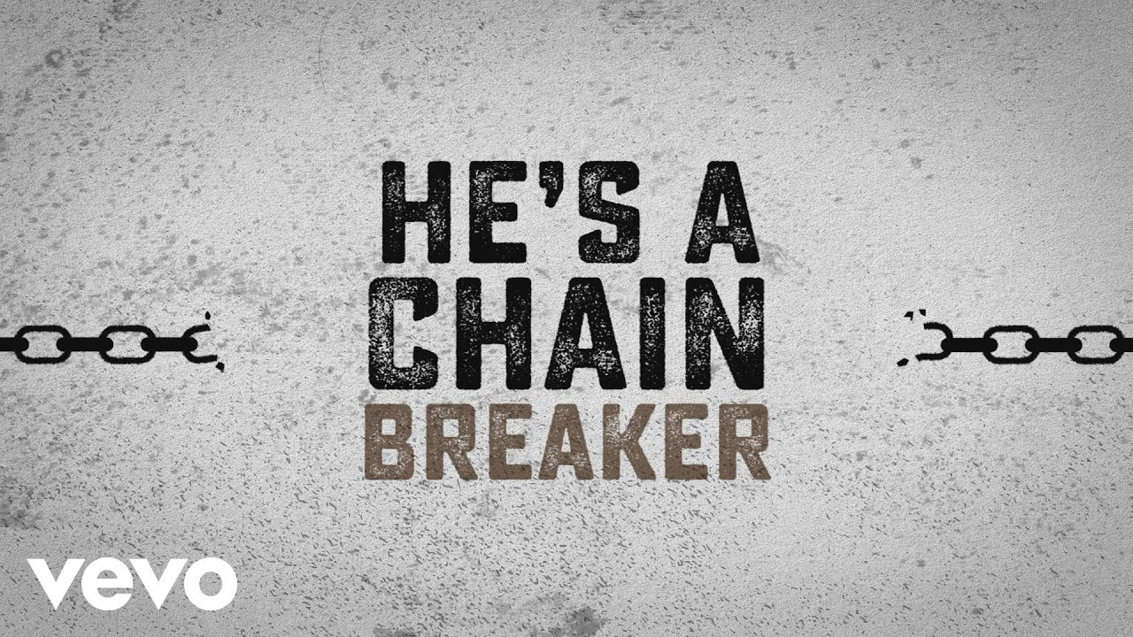 Chains Breaking Background Powerpoint