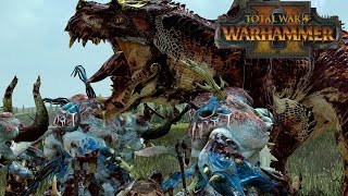 THICC-Spawn - Chaos vs Lizardmen // Total War: Warhammer II Online Battle