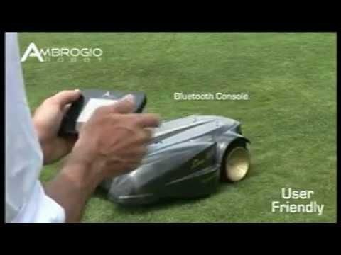 robot tondeuse ambrogio l400 youtube. Black Bedroom Furniture Sets. Home Design Ideas