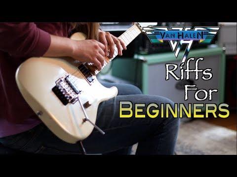 Van Halen Riffs Beginners Can Play!