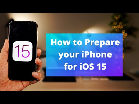 How to prepare your iPhone for iOS 15   Install iOS 15 early