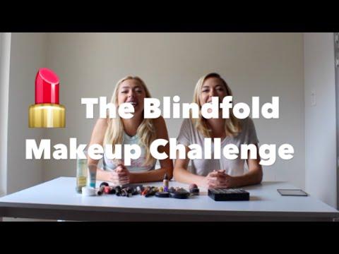 BLINDFOLD MAKEUP CHALLENGE | NOLAN TWINS