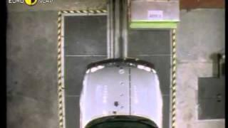 Краш тест Saab 900 1997 (E-NCAP)