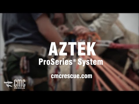 CMC Rescue AZTEK ProSeries™ System for Technical Edge Rope Rescue & Rope Access with Reed Thorne