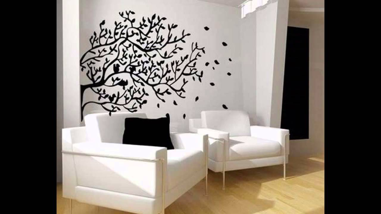 Stunning Wall decals for living room ideas - YouTube