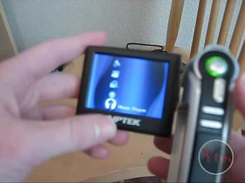 Aiptek P-HD 720p  Camcorder -Review & Unboxing