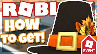 [EVENT] How to get the PILGRIM HAT | Roblox High School