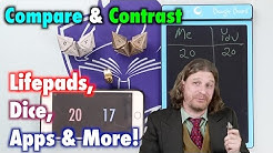 MTG - A Review of Lifepads, Dice, Counters and Apps for Magic: The Gathering