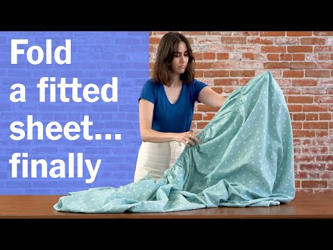 How to Fold a Fitted Sheet: Our Best Method