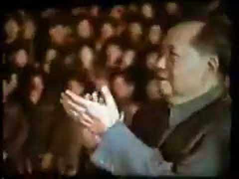 Mao Zedong was being worshipped in cultural revolution