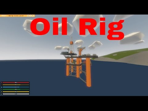 Quick Tour of the Russian Oil Rig