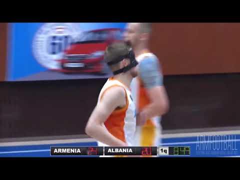 Basketball. Top 5. Armenia NT Best Plays Vs Albania