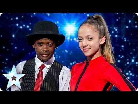 Dancers Lauren and Terrell are on a mission  Britains Got Talent