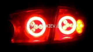 Led светодиодный тюнинг задних фар Seat Cordoba Киев задние фары(Установлены светодиодные кольца GT с рассеивателем, наборные отражатели..., 2014-04-14T08:47:07.000Z)