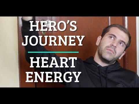 Hero's Journey, Create vs Consume, Heart Energy [highlights]