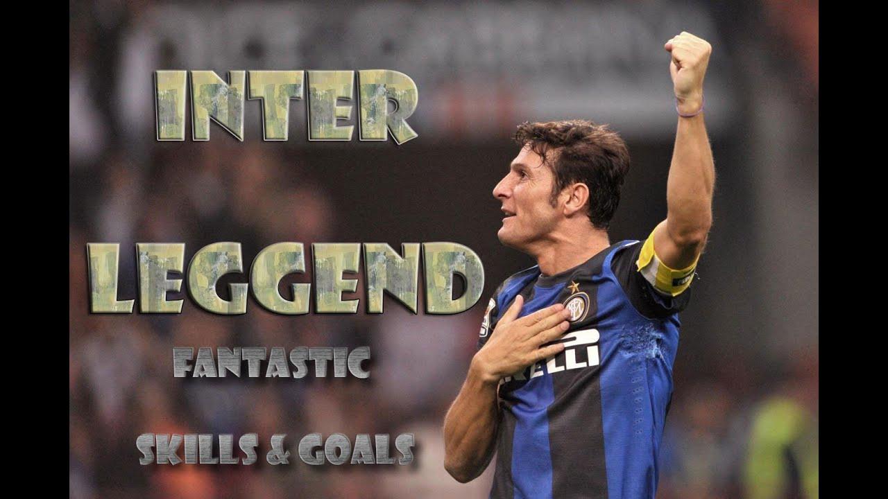 Javier Zanetti ○ Inter Legend ○ Fantastic Skills & Goals