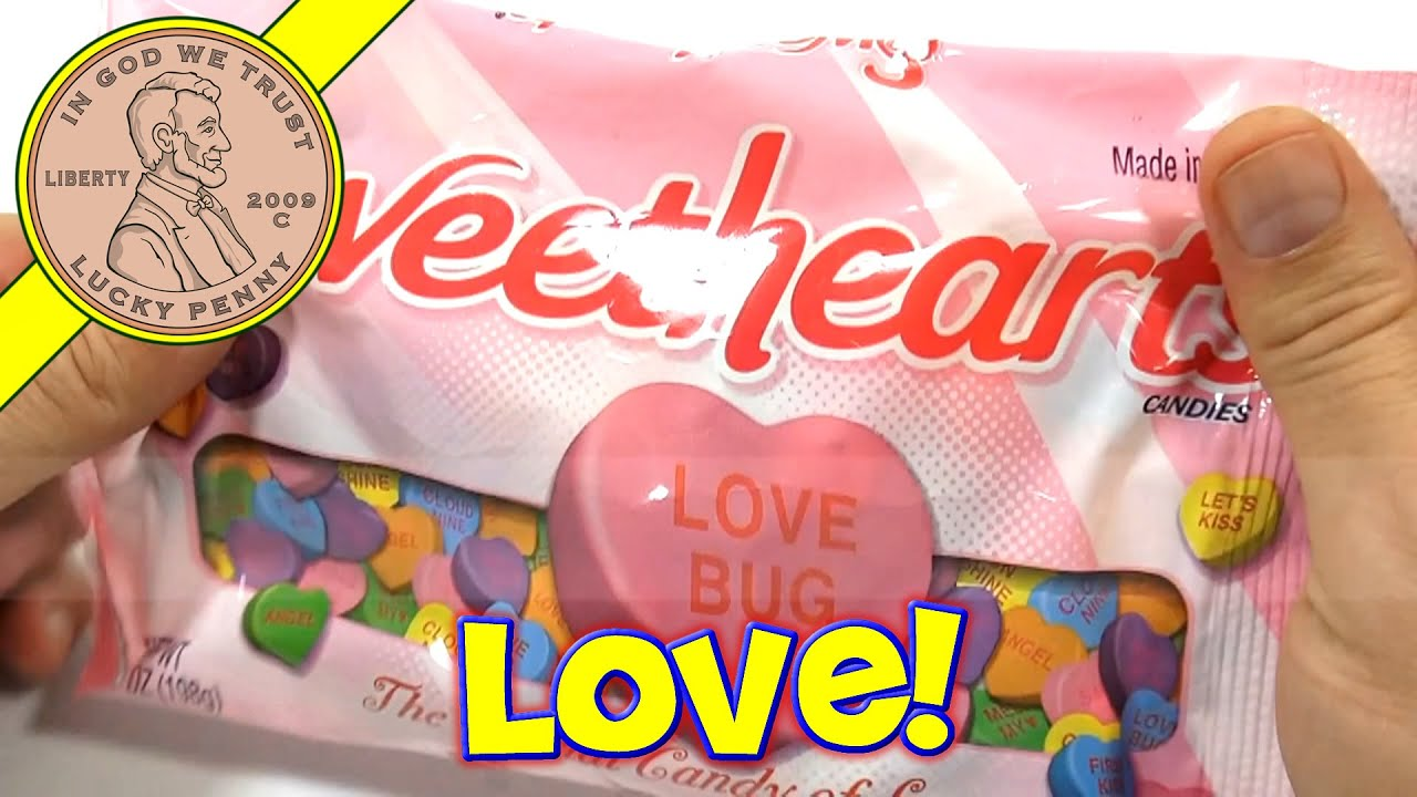 Sweetheart Conversation Hearts Candy 2014 Valentine S Day Series