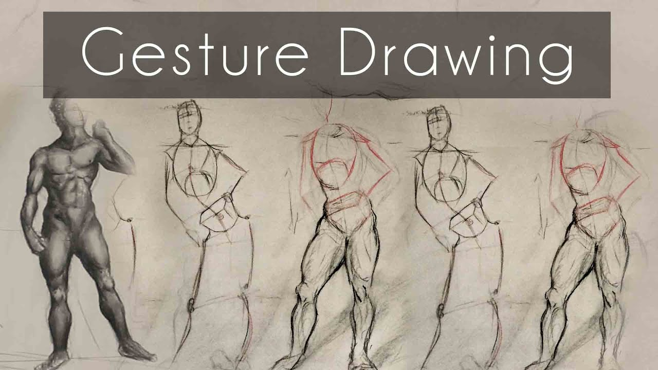 How to do Gesture Drawing (12 Tip Tutorial) - YouTube