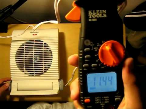 Energy Consumption of a Space Heater