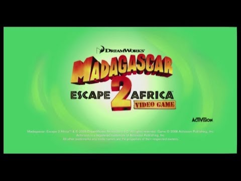 Madagascar: Escape 2 Africa (2008) video game promo