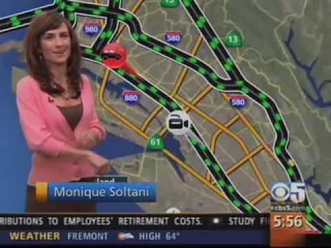 Monique Soltani KPIX-TV Traffic Anchor