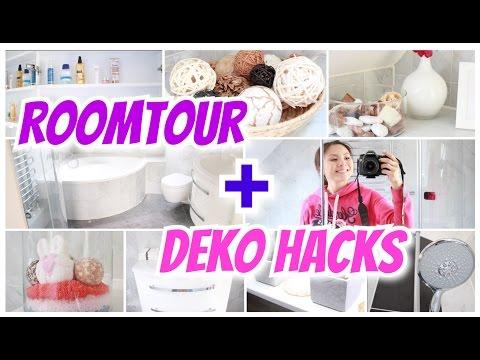 ROOMTOUR + DEKO HACKS Badezimmer renovieren vorher-nachher | Mamiseelen
