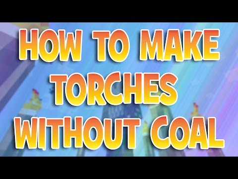 How To Make Torches WITHOUT Coal | Minecraft Tuturoials | Xbox One / 360 PS3 PS4 / PC