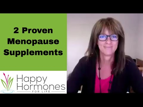 2 Menopause Supplements That Are Credible HRT Alternatives