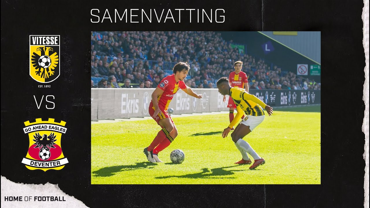 Download Samenvatting Vitesse - Go Ahead Eagles (2021/2022)